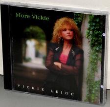 VTL VITAL Audiophile CD VTL-018: Vickie Leigh - MORE VICKIE - OOP 1992 USA SS