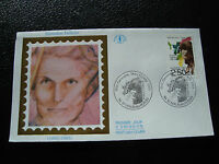 FRANCE- enveloppe 1er jour 11/4/1992 (germaine taillefer) (cy21) french