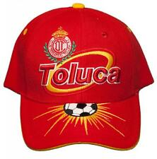 NEW!! Deportivo Toluca Fútbol Club Adjustable Back Hat Embroidered Cap - Toluca