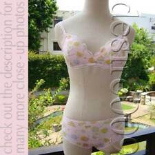 NWT TSUMORI CHISATO Cotton Cup-Cake Bra/2 Panties 70A/M