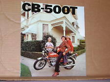 1976 Honda CB500 T Motorcycle Sales Brochure - Literature