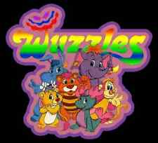 80's Cartoon Classic The Wuzzles custom tee Any Size Any Color