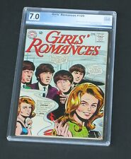 Girls' Romances #109 PGX 7.0 Rare Beatles Cover DC Comics 1965 Girls Love