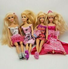 Barbie Doll Bundle Job Lot Some Vintage 1999 to 2013 with Fashion Clothes