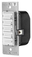 Leviton Decora Preset Countdown Timer Switch, 5, 10, 15, 30 Min (Ltb30-1Lz)