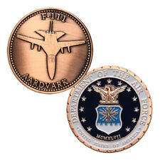 USAF F-111 AARDVARK Antique copper Plated Challenge Coin 5044#