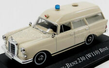 wonderful modelcar MERCEDES-BENZ 230 (W110) BINZ AMBULANCE  1966 - ivory - 1/43