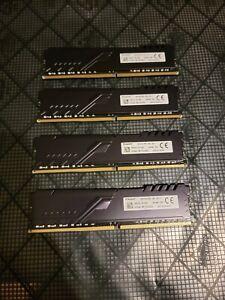 Kingston HyperX FURY 128GB (4x32GB) Ram Memory DDR4-3200 2Rx8 XMP4-3200-UB2-11