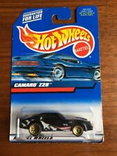 HOT WHEELS 2000  CAMARO Z-28 BLACK  COLLECTOR #124 Blue Card Brand New