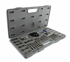 Abn Metric And Sae Standard Tap And Die 60-Piece Rethread Set Rethreading Kit Fo