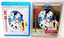 2A BLU-RAY 101 DALMATIANS Walt Disney Diamond Edition + DVD
