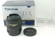 Tokina AT-X 107 DX Fisheye 10-17mm F/3.5-4.5 Lens for Canon Very Good!! 211068