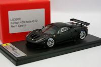 Looksmart 1/43 - Ferrari 458 Italia GT2 Nero Opaco