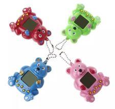 "Tamagotchi Bear Virtual Pet Game Keychain Playable Random Color 3"" US Seller"