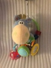 Playgro Baby Rattle Toy Box Clip Clop Horse Dingly Dangle Plush Animal