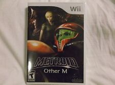 Metroid: Other M (Nintendo Wii, 2010) New Sealed