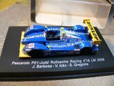 1/87 Spark Pascarolo P01-Judd Rollcentre Racing Nr. 18 LM 2008 J. Barbosa/V. ...