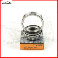 1 Pcs Timken 15123 & 15245 Cup & Cone Tapered Roller Bearing Race Set Brand New