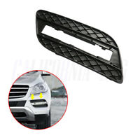 Left Front Bumper Fog Driving Light Grille Cover For Mercedes ML350 ML550 12-15
