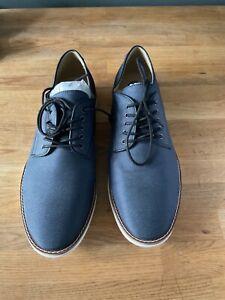 Calvin Klein Auggussie Nylon Navy Blue Shoes Mens Size 11.5