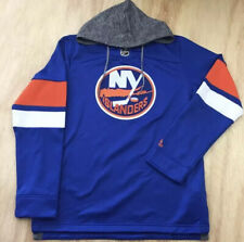 Adidas NHL NY Islanders Jersey Pullover Hoodie Embroidered (CB7317) NWT! Small