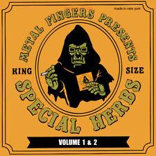 """MF Doom Special Herbes Vol.1+2 2LP Vinyle + 7"""" Single 2013 Métal Visage NSD100-1"""
