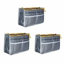Dual Bag in a Bag Organizer (Gray) Set of 3