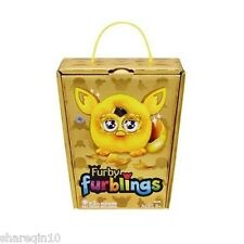 New Original LICIENSE GOLDEN GOLD FURBY FURBLING LIMITED EDITION RARE SALES