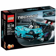 LEGO Drag Racer new sealed Technic set 42050 racing blue dragster car