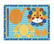 Stephen Joseph Lion Lacing Puzzle New Toddler Activity Learning Toy Fine Motor