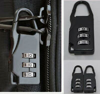 Travel Luggage Suitcase Combination Lock Padlocks Bag Password Digit Code c0ca