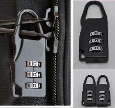 Travel Luggage Suitcase Combination Lock Padlocks Bag Password Digit Code CA
