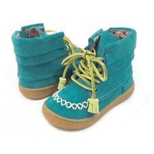 NIB LIVIE & LUCA Shoes Boots Hopper Teal Aqua Blue 8 9 11 13