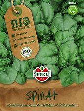 """Sperli Bio - Spinat """" Palco """" Frühjahr .- und Herbstaussaat Samen     83150"""