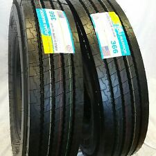 (2-Tires) 11R22.5 NEW ROAD WARRIOR 16 PLY STEER RADIAL TRUCK TIRES