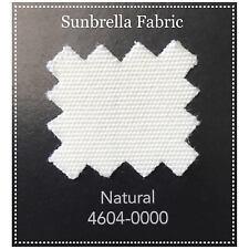 """Sunbrella Fabric 46"""" Wide Natural #4604 1 Yard"""