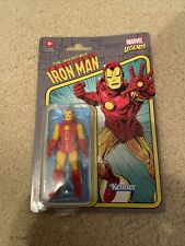 Marvel Legends IRON MAN RETRO 3.75 FIGURE 2021