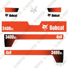 Bobcat 3400XL 4x4 Utility Vehicle Replacement Decals 2010