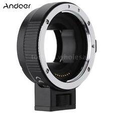 Auto Focus AF TTL Lens Adapter Ring for Canon EOS EF to SONY E NEX A7 A6000