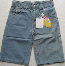 PETIT PATAPON Jungen Jeans Short Gr. 7-8 Jahre Hellblau