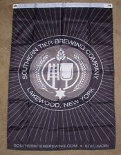 SOUTHERN TIER BREWING Cool Banner LOGO FLAG Label Art craft beer brewery