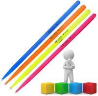 Agner 1 Paar 5 A UV-Light Drum-Sticks verschiedene Farben Trommelstöcke