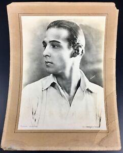 ANCIENNE PHOTO RUDOLPH VALENTINO ARGENTIQUE VINTAGE PARAMOUNT MOVIE STAR CINEMA