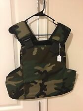 ForceOne TOS Tactical Outer Shell Panel/Plate Carrier - WOODLAND CAMO M  (2125)