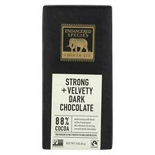 Endangered Species Natural Chocolate Bars Dark Chocolate 3 oz Bars - Case of 12