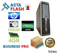HP Compaq Professional 6305 Business computer aziendale 4gb Ram HDD 250 Win 10