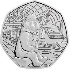 2018 Reino Unido en la estación de Paddington Bear Moneda Bu 50P-problema oficiales del Reino Unido