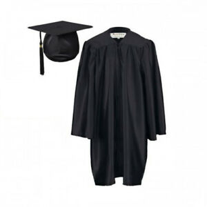 Children's Primary Graduation Gown and Hat for age 7--13 junior High school