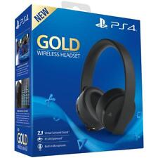 CUFFIE GOLD WIRELESS SONY PLAYSTATION 4 2.0 STEREO GIOCO HEADSET VIDEOGAMES PS4