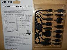 USB Multi Chargeur Câble Adaptateur téléphone portable pour Sony Ericsson Nokia LG PSP mp3